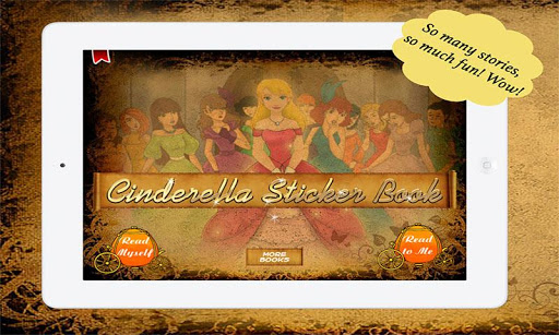 Cinderella Sticker Book