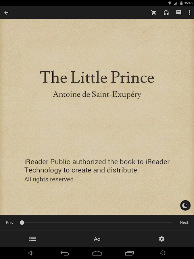 iReader- screenshot