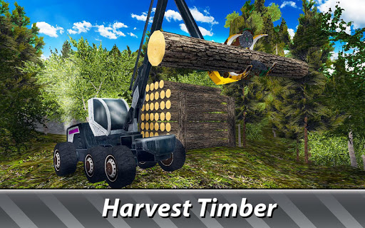 Timber Harvester Simulator  screenshots 2