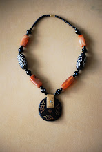 Photo: 18. Senegalese jewlery with ebony wood [NOT part of the lottery - will be given to my mother & sister]