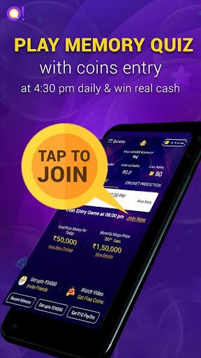 Qureka: Live Trivia Game Show & Win Cash  captures d'u00e9cran 7