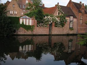 Photo: Bruges is an absolute charm at every step.