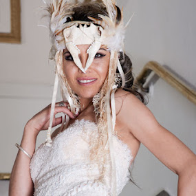 Warrior bride  by Murray howard-Brooks - People Fashion