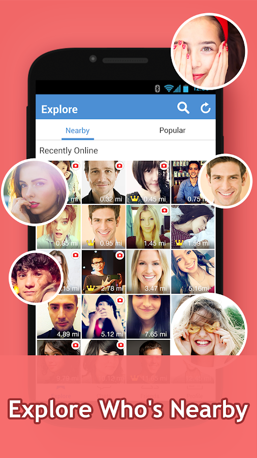 InstaMessage - Chat, meet, dating- screenshot
