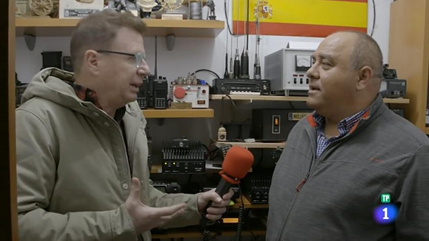Ginés Artero, entrevistado por Jorge Cadaval para el programa El Paisano.