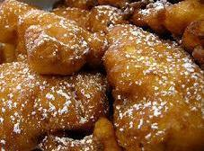 Sour Cherry Fritters Recipe