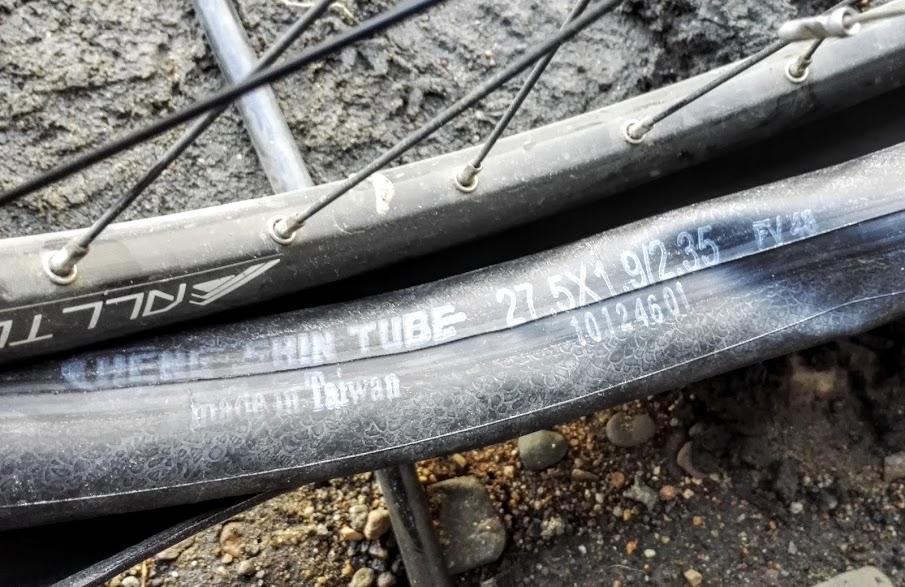 велосипедная камера cheng shin tube 27.5x1.9/2.3