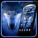 Black Cool Wolf  King Theme icon
