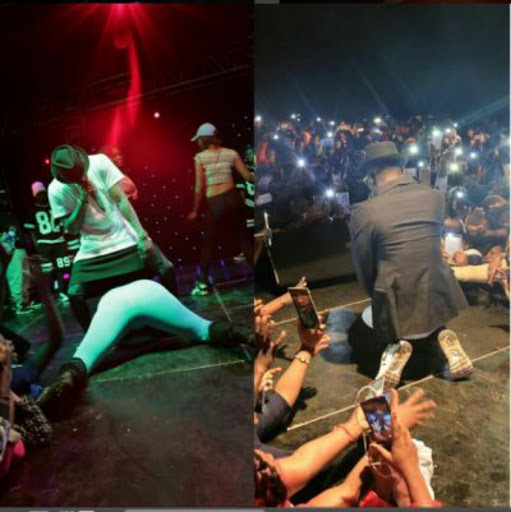 Here Are 5 Pictures That Prove Diamond Platnumz's Stage Performances Are Ratchet