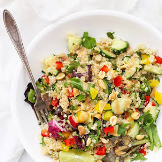 Spring Roll Quinoa Salad.