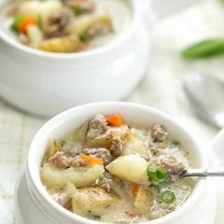 One-Pot Creamy Sausage and Potato Soup