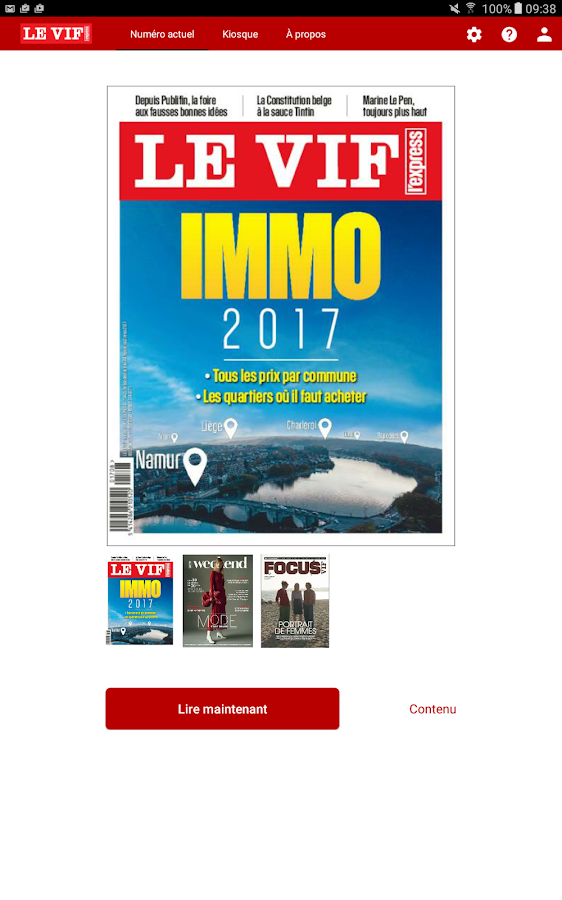 Le Vif/L'Express. – Capture d'écran