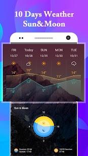 iOS11 Weather Radar Widget-Forecast &Radar Monster - náhled