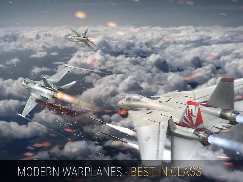 Modern Warplanes: Wargame Shooter PvP Jet Warfare Screenshot 19