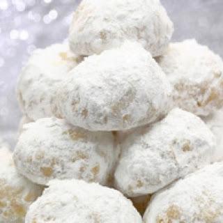 Gluten Free Hawaiian Wedding Cookies.