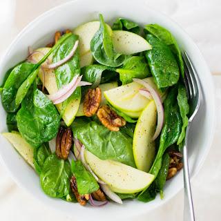 Autumn Spinach Pecan Salad.