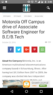 OffCampusJobs4u : Job Updates- screenshot thumbnail