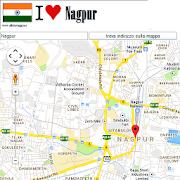 Nagpur map