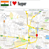Nagpur map