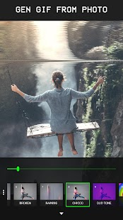 Glitcho - Glitch Video & Photo Editor Screenshot