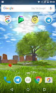 Nature tree live wallpaper - náhled