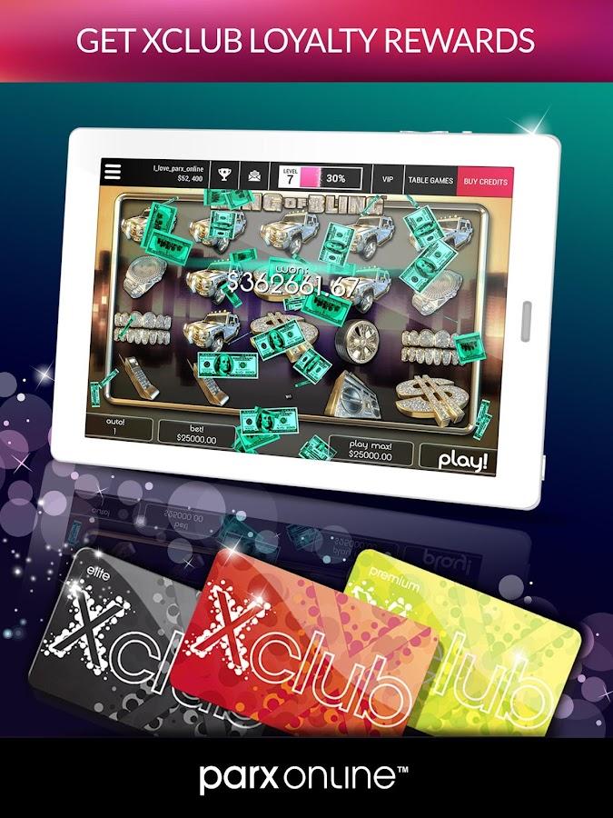 free play parx casino