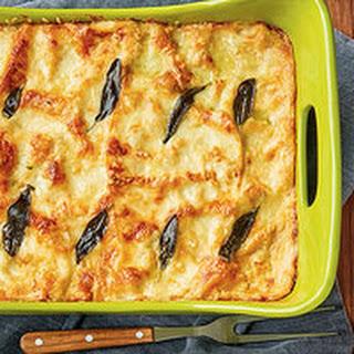 Rach's Butternut Squash and Escarole Lasagna
