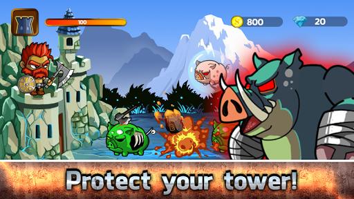 ゾンビ防衛:英雄塔 Zombie Defense