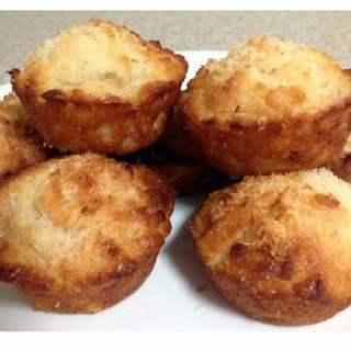 Coconut, Banana Yoghurt Muffins