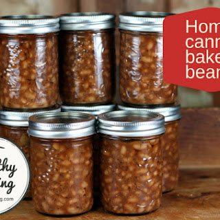 Home Canned Baked Beans Recipe