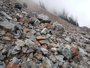 Photo: More and more talus