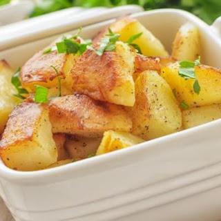 Easy Baked Boiled Potatoes