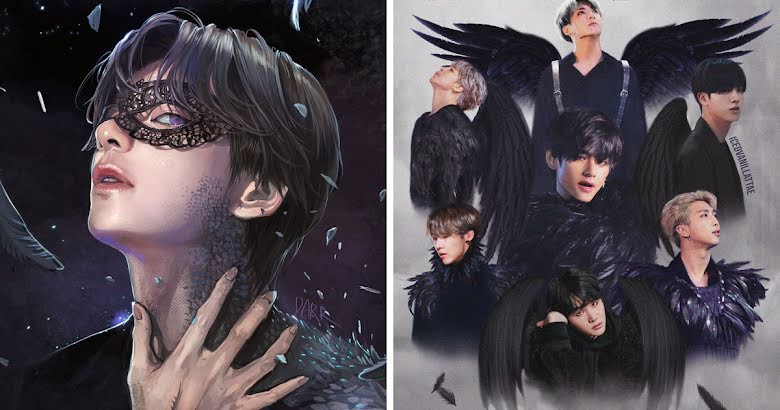 10 Bts Black Swan Photo Edits And Artworks That Will Leave You Breathless