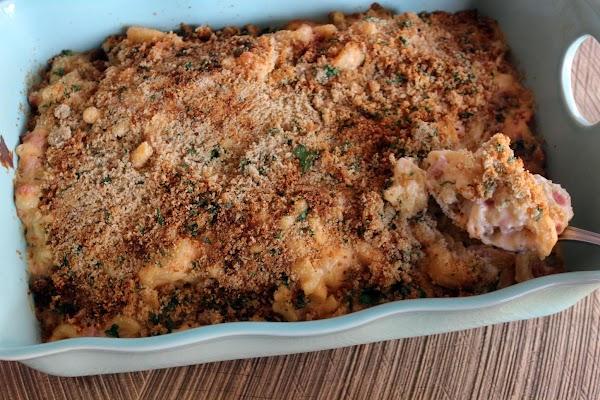 Cheese And Macaroni With Ham Recipe