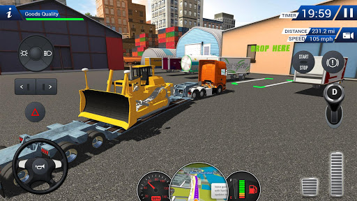 Euro Truck Driving Simulator 2018  screenshots 3