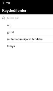 Türk İşaret Dili Screenshot