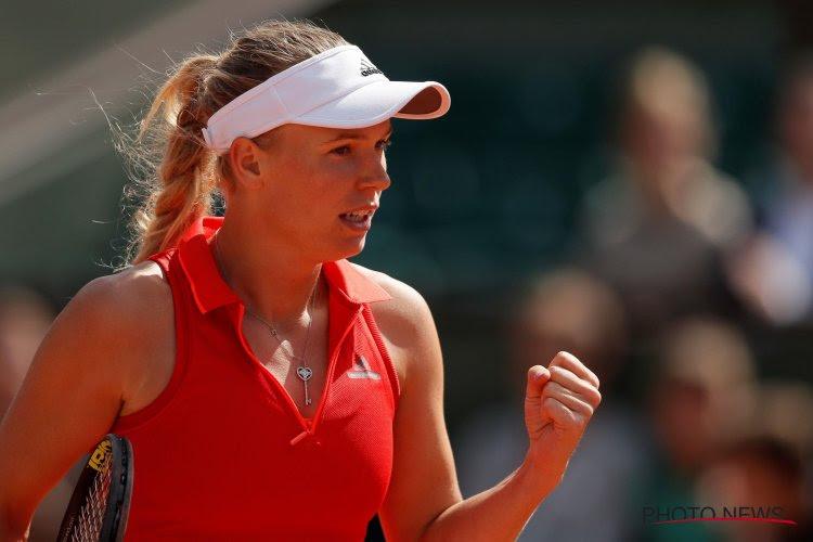 Deense Wozniacki schakelt ex-winnares uit en staat na 7 jaar eindelijk nog eens in kwartfinales