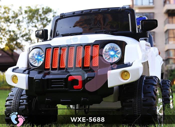 Ô tô điện cho bé WXE-5688 2 động cơ 2