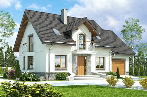 projekt Dom Dla Ciebie 3 z garażem 1-st. A2