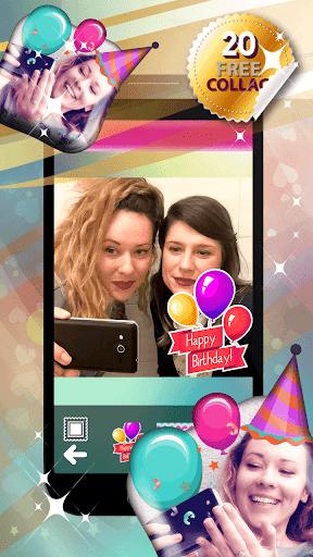誕生日 コラージュ