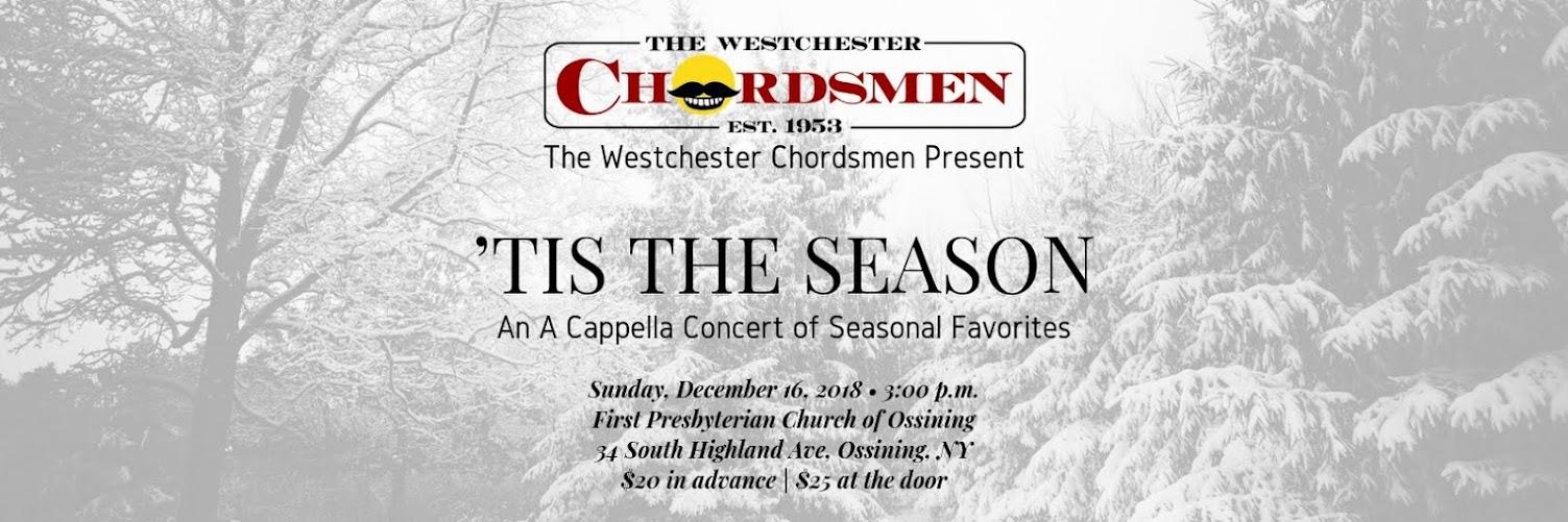 'Tis The Season (An A Cappella Concert of Seasonal Favorites)