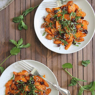 Gina's Coconut Roasted Carrot Salad.