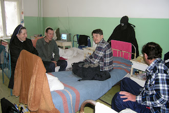 Photo: Sr. Elzbieta im Tuberkulosespital