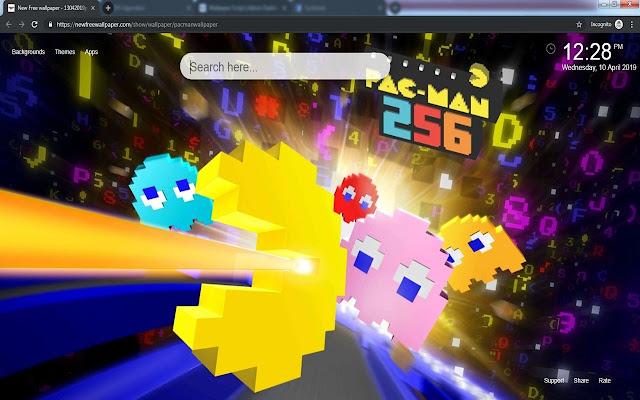 Pacman Wallpaper Hd New Tabs