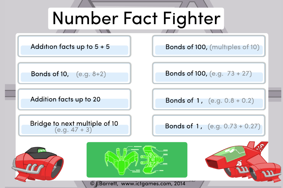 Number Fact Fighter- screenshot