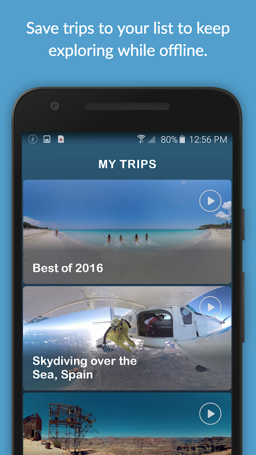 Ascape VR: 360° Virtual Travel- screenshot