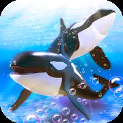 Orca Whales Simulator: Underwater Survival