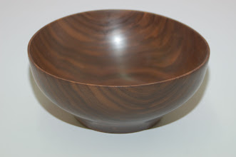 "Photo: Don Van Ryk - Bowl - walnut - 8"" x 3.5"""