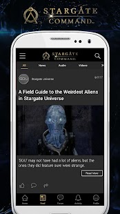 Stargate Command- screenshot thumbnail