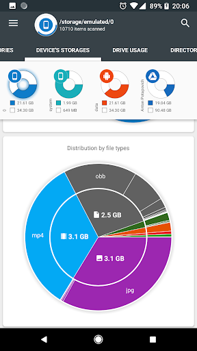Storage Analyzer & Disk Usage 4.1.0.9 Screenshots 2